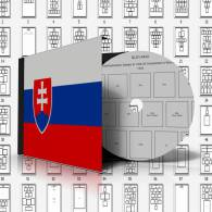 SLOVAKIA STAMP ALBUM PAGES 1939-2011 (96 Pages) - Software