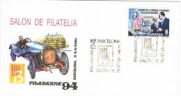 0244. Carta Barcelona 1994. Filbarna. Salon Filatelia - 1931-Hoy: 2ª República - ... Juan Carlos I