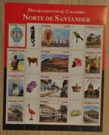 M ++ COLOMBIA 2011 NOORDEN VAN NORTE DE SANTANDER ++ HIGH FACE VALUE ++  MNH ** - Colombia