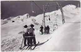 Inner-Arosa (GR) Skilift, Foto, 1950   ***26401 - GR Grisons