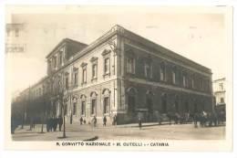 B447 SICILIA CATANIA VIAGGIATA 1942 CONVITTO RUTELLI FOTOGRAFICA - Catania