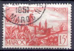 MAROC MARRUECOS MOROCCO YVERT & TELLIER NR. 262 A OBLITERE - Marokko (1956-...)