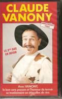 K7, VHS. Claude VANONY. LE 3ème AGE EN AVION. Enregistrement Public. - Concert Et Musique