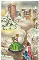 R : Bonne  Année (  Château , Prince, Princesse ) - Nouvel An