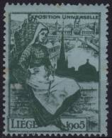 1905 Liege Belgium - Exposition Universelle - MH - International Fair (Exhibition) - AUSSTELLUNG - 1905 – Liège (Belgium)
