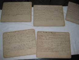 Partition  En Carton Dur Pour Clarinette Faust La Chaine D Or - Blasinstrumente