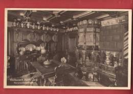 C0446 Restaurant Aklin Beim Zytturm Zug, Renaussancestübeli Foto-Karte 272 In 1943 - ZG Zoug