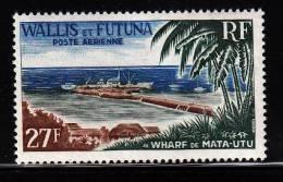 Wallis & Futuna MNH Scott #C21 27fr Mata-Utu Wharf - Wallis-Et-Futuna