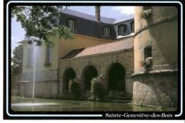Sainte-Geneviève-des-Bois         (Essonne)-Le Lavoir Du Donjon- - Sainte Genevieve Des Bois