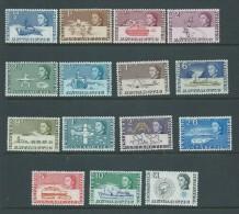 British Antarctic Territory 1963 QEII Definitive Set 15 MNH - Unclassified