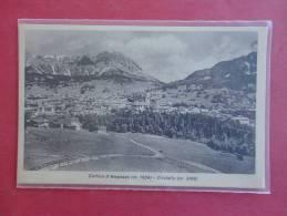 Cortina D' Ampezzo   Italy =  Ref 759 - Italy