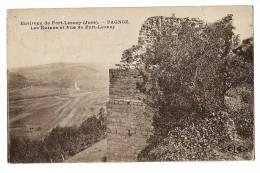 PORT LESNEY - PAGNOZ - Les Ruines Et Vue De Port-Lesney - Ecrite & Timbrée En 1927 - Belle Calligraphie - Non Classés