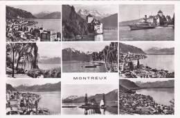 Montreux : Carte Multivues - VD Waadt