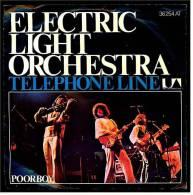 "Single Vinyl, 7"", 45 RPM  ,   Electric Light Orchestra – Telephone Line  ,  Nr. 36254 AT  - Von 1977 - Rock"