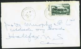 1955  Lettre   Pour Le Canada  Yv 341 Seul - St.Pierre & Miquelon