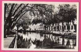 C-P-S-M-(74 Haute-Savoie)32 -ANNECY. Le Canal Du Vassé Et La Placede L´Hotel-de-Ville. - Annecy