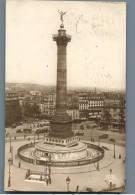 Paris - Place De La Bastille, Photo Postcard - France 1920s - Frankreich