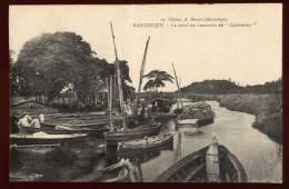 Cpa De Martinique  Le Canal Du  Lamentin  Au Calebassier   SAB3 - Non Classificati
