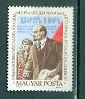 Hongrie  2832    * *  TB Lenine - Unused Stamps