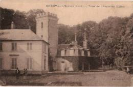CPA  - GREGY SUR YERRES 77 Seine Et Marne - Tour De L' Ancienne Eglise - France