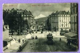 GENEVE Rue Du Mont-Blanc        ( Tramway ) - GE Genève