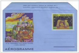 VATICANO 1986  Specola Vaticana Aereogramma £. 650 Nuovo** - Postwaardestukken