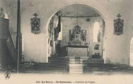( CPA 18 )  ST-SATURNIN  /  Intérieur De L' Église  - - Non Classificati