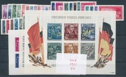 DDR Jahrgang 1955 ** Komplett Mi. 250,- - [6] República Democrática