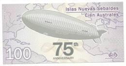 New Jason Island - 100 Australes, - Banconote