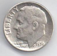 STATI UNITI 1 DIME 1956 AG - Emissioni Federali