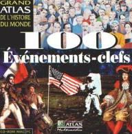 GRAND ATLAS DE L'HISTOIRE DU MONDE - 100 EVENEMENTS-CLEFS - CD-ROM MAC PC - EDITIONS ATLAS - CD