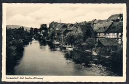 AK Bad Sooden-Allendorf Werra-Meißner-Kreis, Hessen, Fischerstadt - Bad Sooden-Allendorf
