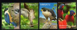 Vanuatu 1999 - 1 Série De 4  N° YT 1069** A 1072** Oiseaux Des Iles - Vanuatu (1980-...)