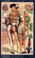 Chromo - Chocolat Guérin Boutron - Les Costumes - Antiquité & Moyen Âge - (1° Série) Vénitiens XIV° - N°55 - Chocolat