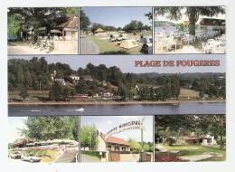CSM :36 - Indre - Fougères : Plage De Fougères Multivues ( 7 ) - Autres Communes