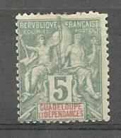 Guadeloupe N°30* - Guadeloupe (1884-1947)