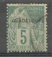 Guadeloupe N°17 (o) - Usati