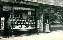 N°27703 -cpa Bayeux -Achille Louis Confiserie -rue St Martin- - Bayeux