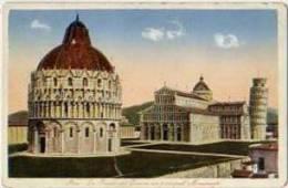 Tos 8318Pisa – La Piazza Del Duomo Coi Principali Monumenti - Pisa