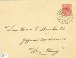 BRIEFOMSLAG Uit * 1907 *  VOORDRUK NVPH  60 Van ROTTERDAM Naar ´s-GRAVENHAGE (6875) - Ganzsachen