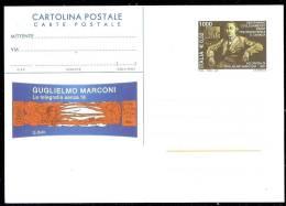 ITALIE - EP CP GUGLIELMO MARCONI NEUVE - 1946-.. République