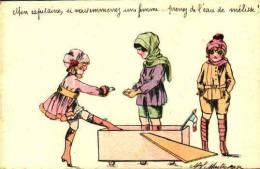 Maitrejean - Mon Capitaine, Si Vous Emmenez Une Femme, Prenez De L'eau De Mélisse - Künstlerkarten