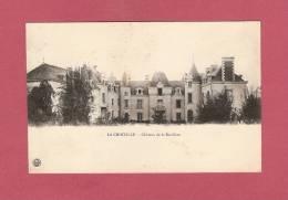 *  CPA  ( 53 )  LA CROIXILLE : Château De La Barilière  - ( 2 Scans ) - France