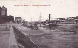 ALLEMAGNE/Eltville Am Rhein Dampfer-Anlegestelle/Réf:C0296 - Rheingau