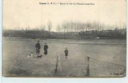 LASSY  - Route Et Vue Du Plessis-Luzarches. - Unclassified