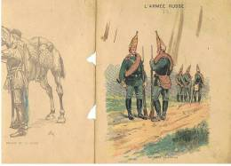 PROTEGE CAHIER   L'ARMEE RUSSE - Carte Assorbenti