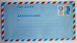 FRANCE LOT De 9 AEROGRAMMES NEUFS DIFFERENTS Variété De Couleur Sur Le N°1018- AER 8 PHOTOS - Postal Stamped Stationery