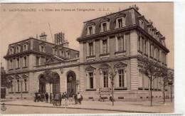 St-Nazaire..animée..Hôtel Des Postes Et Télégraphes - Saint Nazaire