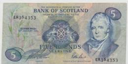 SCOTLAND P. 116b 5 P 1993 VF - [ 3] Scotland