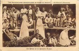 Asie -  A187- Birmanie -mandalay - Les Lepreux De La Leproserie De St Jean -theme Religions -christianisme - - Postcards